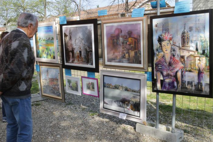 Arte a Medicina con l'Estemporanea di pittura