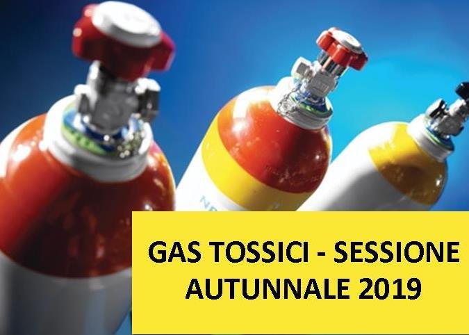 Bando per esami per la patente di abilitazione all'impiego dei gas tossici – sessione autunnale 2019