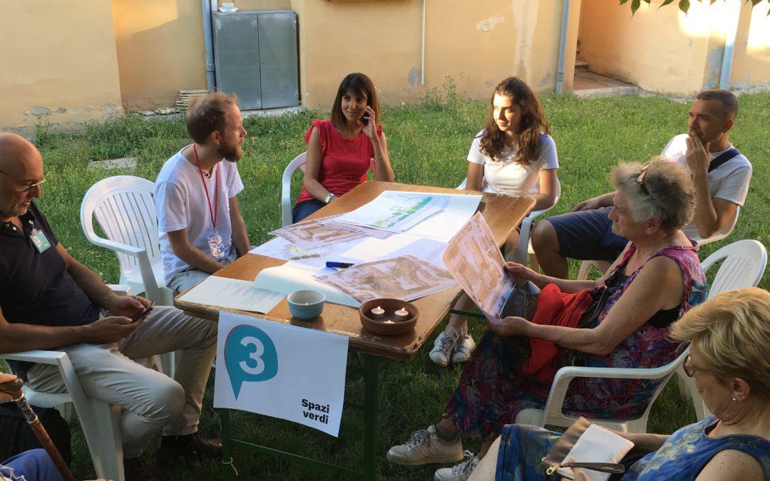"""Tanti partecipanti al 2° incontro del laboratorio partecipato per """"Borgo Paglia"""", prossimo incontro a settembre."""