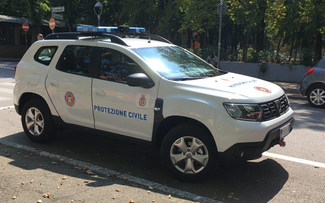 Nuova auto di servizio per i Volontari della Protezione civile di Medicina