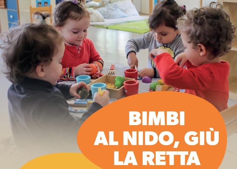 La Regione Emilia-Romagna ha stanziato 18 milioni per l'abbattimento delle rette degli asili nido. A Medicina in arrivo circa 90 mila euro