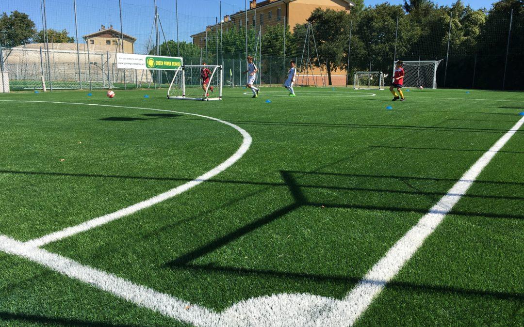 Inaugurazione del nuovo campo sintetico per il calcio a 5 e festa per il 50° anniversario del Settore giovanile del Medicina Calcio