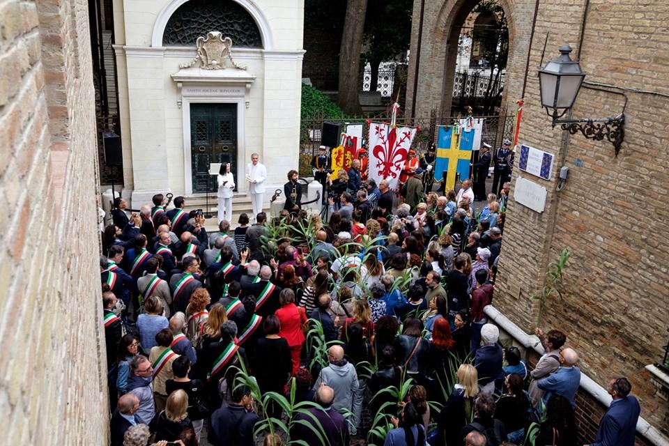 La Città di Medicina ha partecipato al 698° anniversario della morte di Dante Alighieri a Ravenna