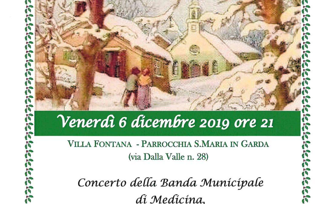 Concerto di Natale e Santa Lucia della Banda Municipale di Medicina