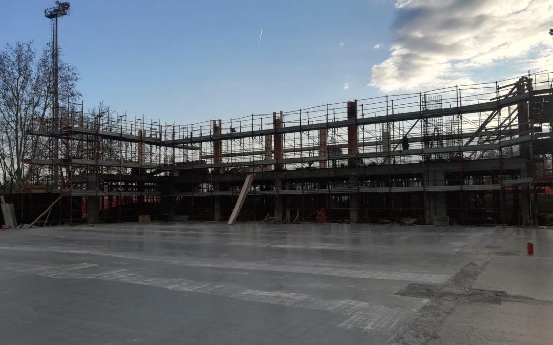 """""""Palestrina"""" proseguono i lavori: il cantiere ha superato il 30% dei lavori"""