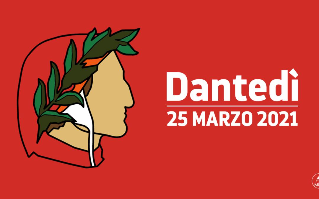 25 Marzo  2021 – Giornata Nazionale dedicata a Dante Alighieri
