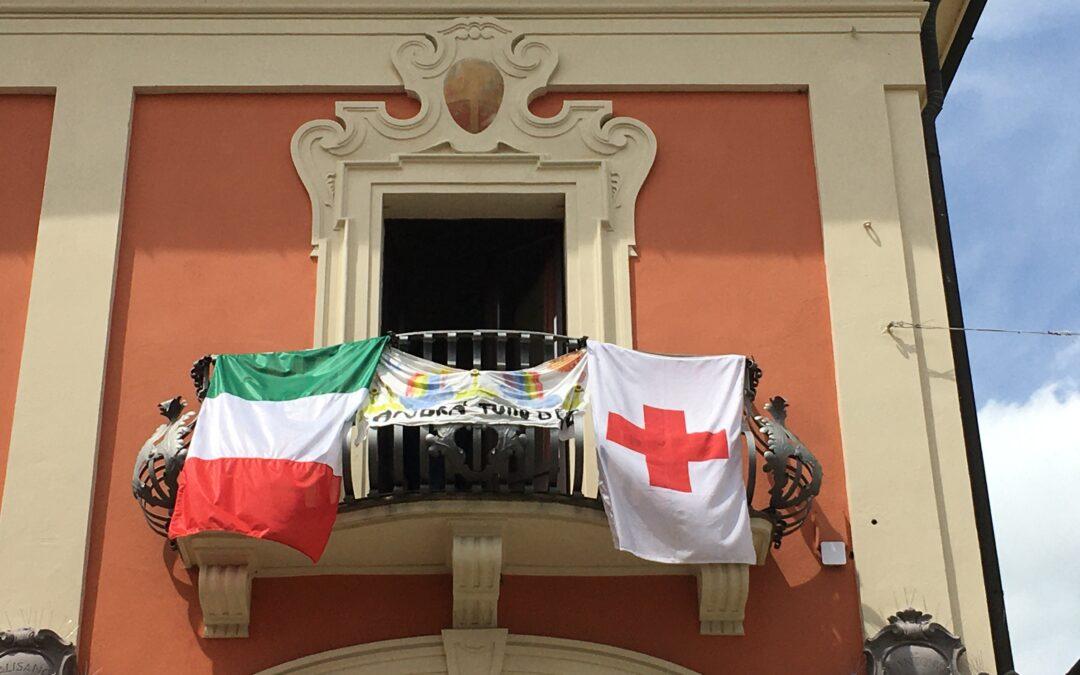 8 Maggio. Una bandiera per la Giornata Mondiale della Croce Rossa