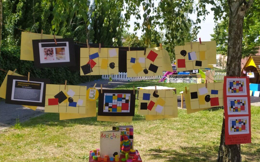 """""""Fili"""" il progetto in mostra nel giardino del Nido Girasoli"""