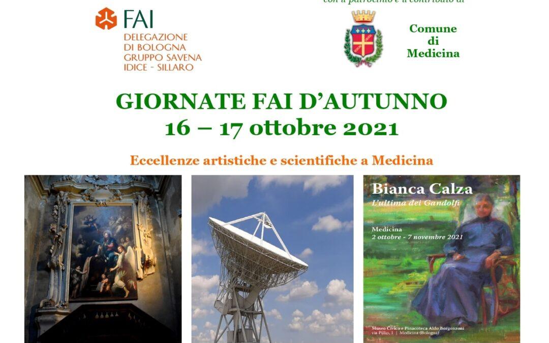 Giornate Fai d'Autunno 2021 – 16 e 17 ottobre 2021
